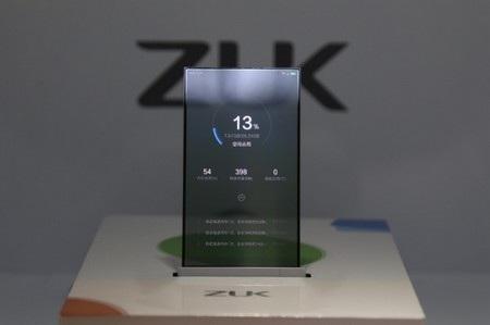 Nguyên mẫu smartphone trong suốt vừa được ZUK giới thiệu