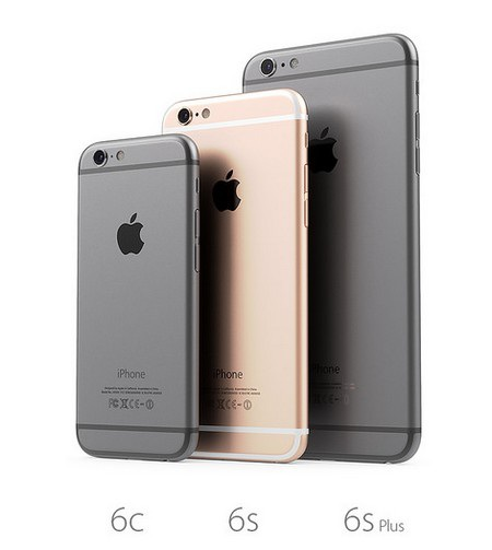 Cả 3 có thiết kế giống nhau, chỉ khác nhau về kích thước màn hình