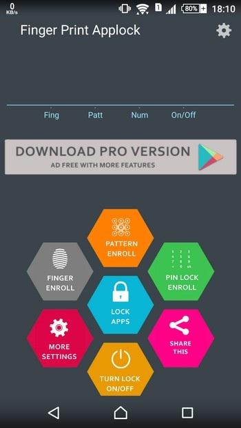 Tuyệt chiêu mang chức năng bảo mật vân tay lên mọi smartphone chạy Android - 1