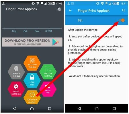 Tuyệt chiêu mang chức năng bảo mật vân tay lên mọi smartphone chạy Android - 6