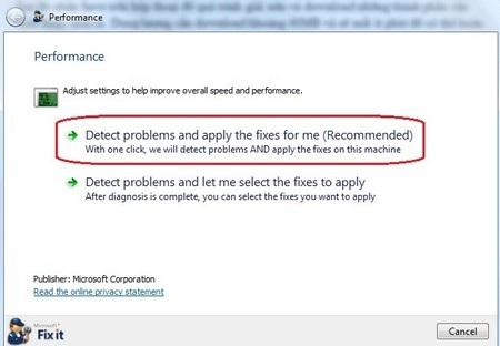 Bạn nên để phần mềm tự động xử lý các vấn đề gặp phải, thay vì phải tự xử lý các vấn đề bằng tay