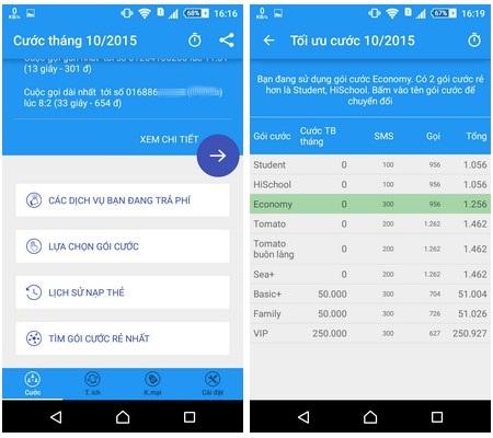 Ứng dụng hữu ích giúp dễ dàng quản lý cước phí di động trên smartphone - 4