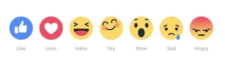 """Reactions cung cấp những cách thức mới để người dùng thể hiện cảm xúc của mình với những nội dung được chia sẻ, thay vì chỉ nhấn nút """"Like"""" như trước đây"""
