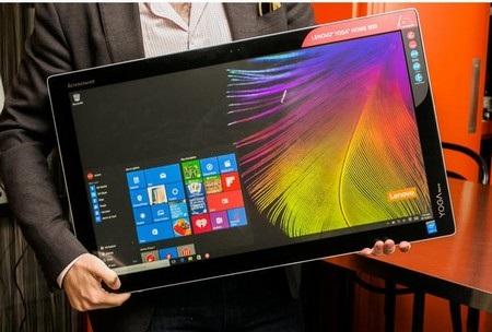 Sản phẩm có khối lượng lên đến 7,8kg và hẳn ít ai muốn sử dụng nó như một chiếc máy tính bảng