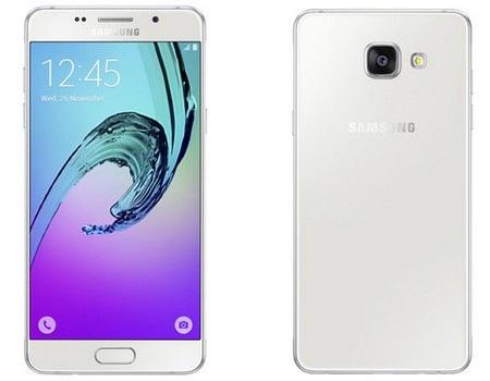 Dòng Galaxy A mới có sự thay đổi về thiết kế và cấu hình (trong ảnh là Galaxy A7)
