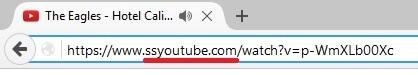 Địa chỉ Youtube mới mà bạn đã sửa lại