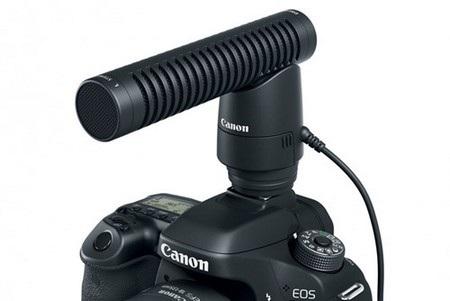 Phụ kiện Directional Stereo Microphone DM-E1 giúp ghi âm tốt hơn khi quay video