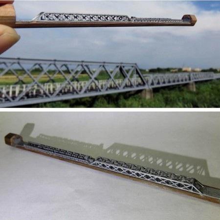 Cây cầu sắt Hu Wei tại Đài Loan, giữa thực tế và tác phẩm do Lee tạo ra
