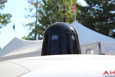 Hệ thống cảm biến được tích hợp trên đầu xe