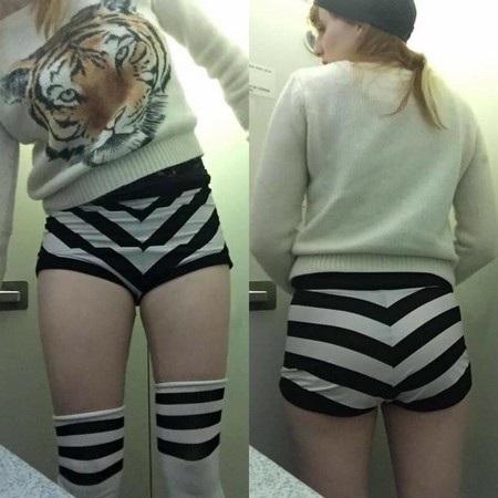 Bộ trang phục mà Maggie khiến cô bị từ chối lên máy bay