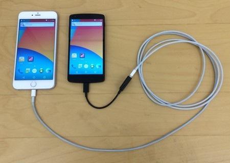 iPhone được biến thành màn hình hiển thị và thiết bị điều khiển của thiết bị khác chạy Android