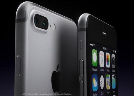 Trong khi đó iPhone 7 Pro được thiết kế với cụm camera kép