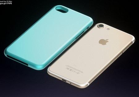 Mặt sau đã không còn sự hiện diện của dãi ăn-ten như các phiên bản iPhone trước đây