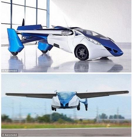 Xe hơi bay AeroMobil 3.0, mẫu xe hơi bay được kỳ vọng sẽ xuất hiện trên thị trường vào năm 2017