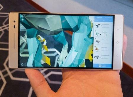 Công nghệ Tango trên Phab 2 Pro cho phép ảo hóa môi trường thực xung quanh thiết bị