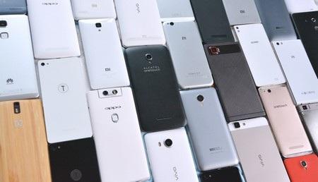 Smartphone thương hiệu Trung Quốc đang chiếm ưu thế trên thị trường nhờ vào mức giá rẻ và đa dạng sản phẩm