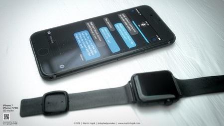 Tuyệt đẹp ý tưởng thiết kế iPhone 7 phiên bản màu đen - 12