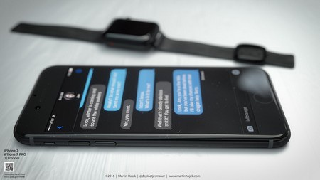 Tuyệt đẹp ý tưởng thiết kế iPhone 7 phiên bản màu đen - 13