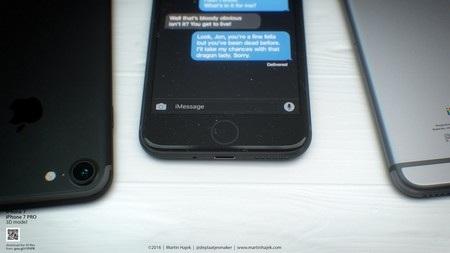 Tuyệt đẹp ý tưởng thiết kế iPhone 7 phiên bản màu đen - 7