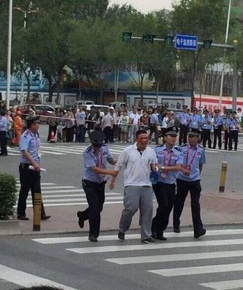 Cảnh sát bắt giữ người đàn ông gây nên vụ tai nạn cho đoàn đua