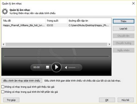 Phần mềm tạo video trình diễn ảnh theo phong cách chuyên nghiệp - 9