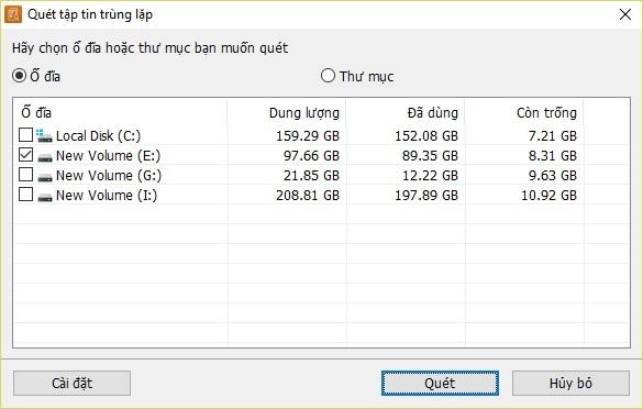 Tìm và xóa file trùng lặp để tiết kiệm dung lượng lưu trữ trên máy tính - 3
