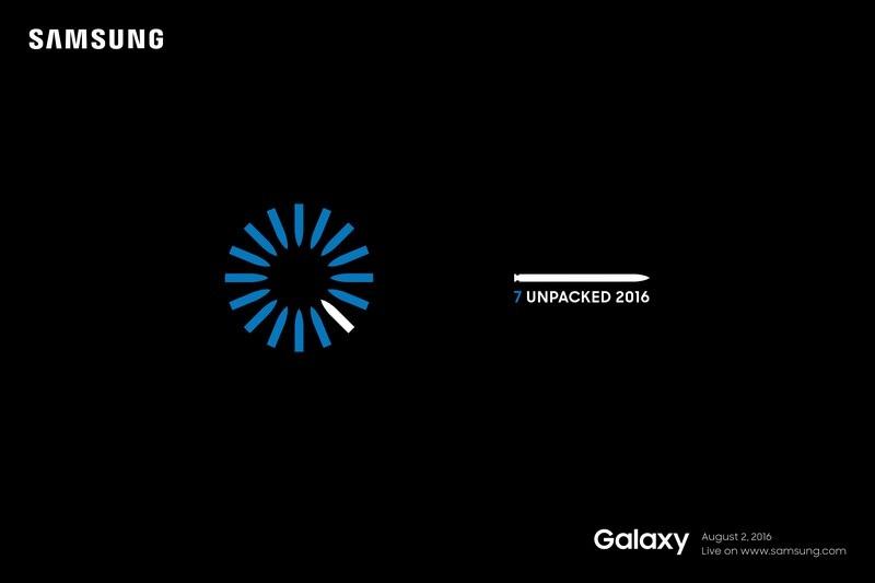 Thư mời sự kiện đặc biệt được Samsung gửi đi cho thấy sản phẩm sẽ có tên gọi Note 7, thay vì Note 6 như thông thường