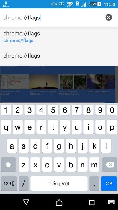 """Kích hoạt """"chế độ thân thiện"""" khi duyệt web bằng Chrome trên Android - 1"""
