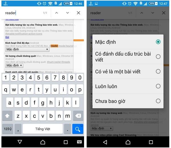"""Kích hoạt """"chế độ thân thiện"""" khi duyệt web bằng Chrome trên Android - 3"""