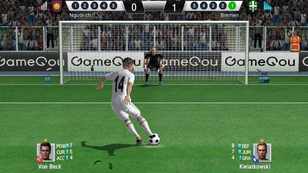 Game bóng đá với đồ họa đẹp mắt dành cho di động - 2