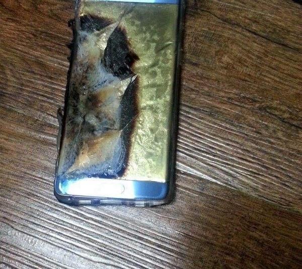 Xôn xao thông tin Galaxy Note7 phát nổ trong lúc đang cắm sạc - 3