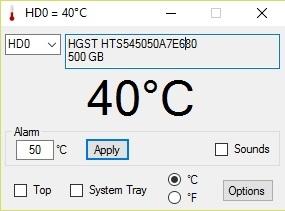 Cảnh báo nhiệt độ để giúp kéo dài tuổi thọ ổ cứng máy tính - 1