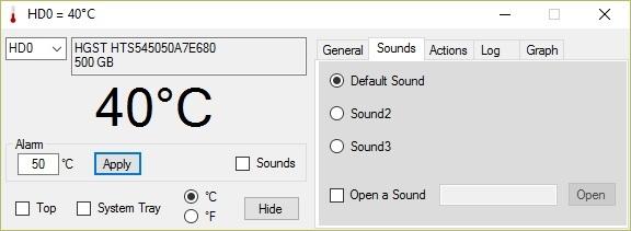 Cảnh báo nhiệt độ để giúp kéo dài tuổi thọ ổ cứng máy tính - 2