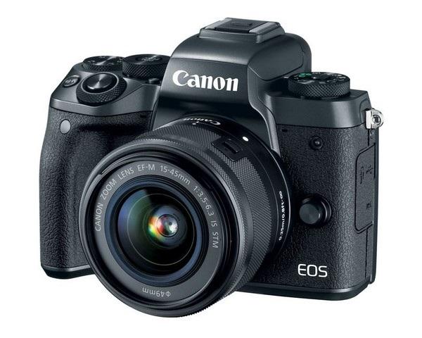 EOS M5 là sản phẩm mới nhất của dòng máy ảnh không gương lật của Canon