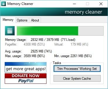 Tự động tối ưu bộ nhớ RAM giúp máy tính hoạt động mượt mà hơn - 1