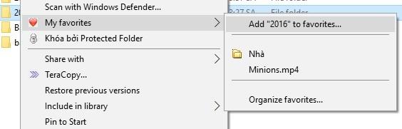 """""""Tuyệt chiêu"""" truy cập nhanh file/thư mục cần thiết từ bất kỳ đâu trên máy tính - 4"""