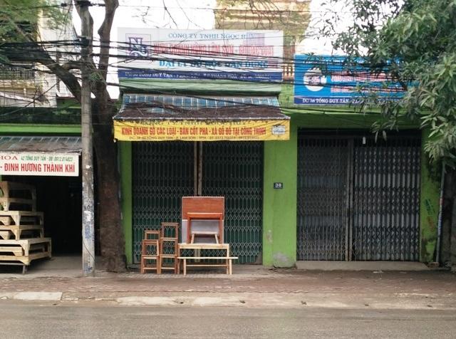 Số nhà 38 Tống Duy Tân được UBND thành phố Thanh Hóa cấp 2 sổ đỏ khác nhau dẫn đến việc tranh chấp diễn ra nhiều năm nay