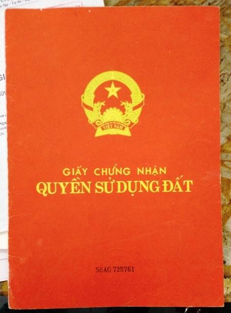 Sổ đỏ AG 725761 được cấp hợp pháp, tuy nhiên UBND thành phố Thanh Hóa lại ra quyết định hủy để công nhận sổ đỏ cấp sai quy trình, hồ sơ giả mạo