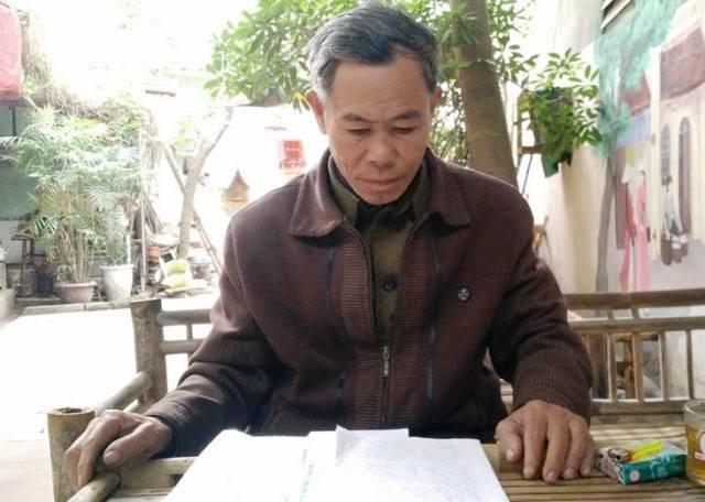 Ông Phạm Hùng Xuyên nhiều năm khiếu nại đòi quyền lợi, tố cáo cán bộ huyện Hậu Lộc làm trái quy định nhưng chưa có được câu trả lời thỏa đáng.