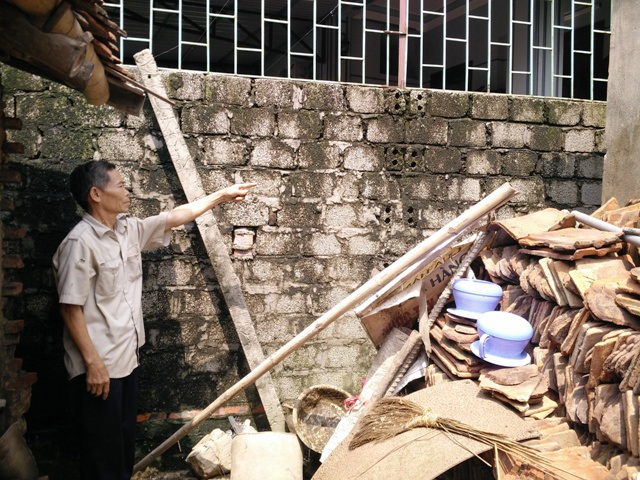 Phần đất hộ ông Xuyên và ông Bình tranh chấp nhiều năm nhưng chính quyền địa phương lại ra quyết định giải quyết bất hợp lý