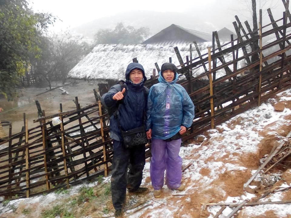 Du khách thích thú tìm đến vùng lạnh nhất để ngắm tuyết rơi.