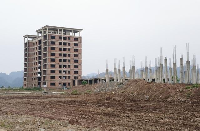 Công trình dự án trường ĐH Hoa Lư được đầu tư xây dựng với số vốn hơn 420 tỷ đồng (ảnh: Thái Bá)