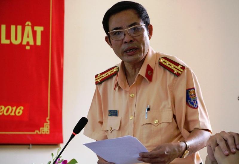 Đại tá Đinh Văn Ninh, Trưởng phòng CSGT Ninh Bình