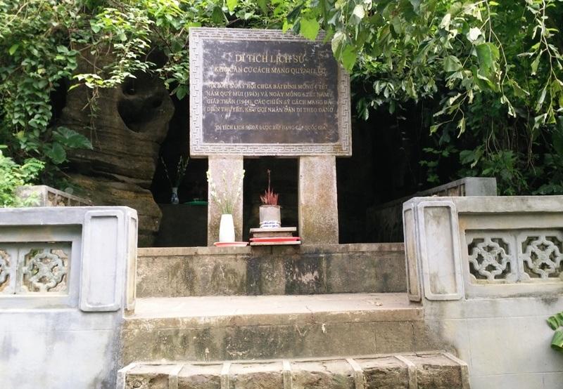 Nơi đây từng là khu căn cứ cách mạng Quỳnh Lưu (Ninh Bình).