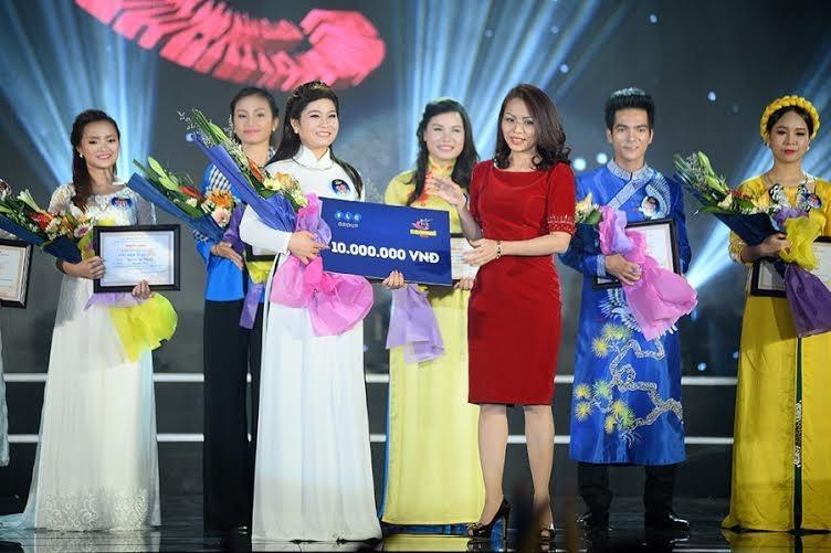 Thí sinh Sông Thao là thí sinh xuất sắc lọt vào tóp 4 và cũng là thí sinh được khán giả bình chọn cao nhất
