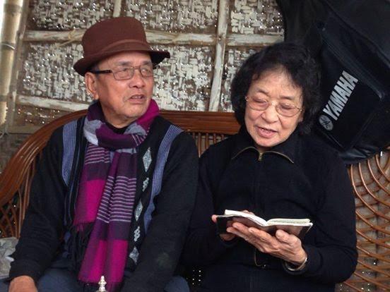 Bà Khoát đọc thơ về anh hùng Nguyễn Bá Ngọc