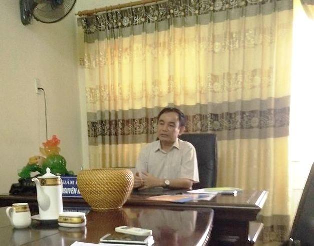 Ông Lê Nguyên Khanh- giám đốc Bệnh viện huyện Nông Cống: Trách nhiệm thuộc về cá nhân, không phải bệnh viện