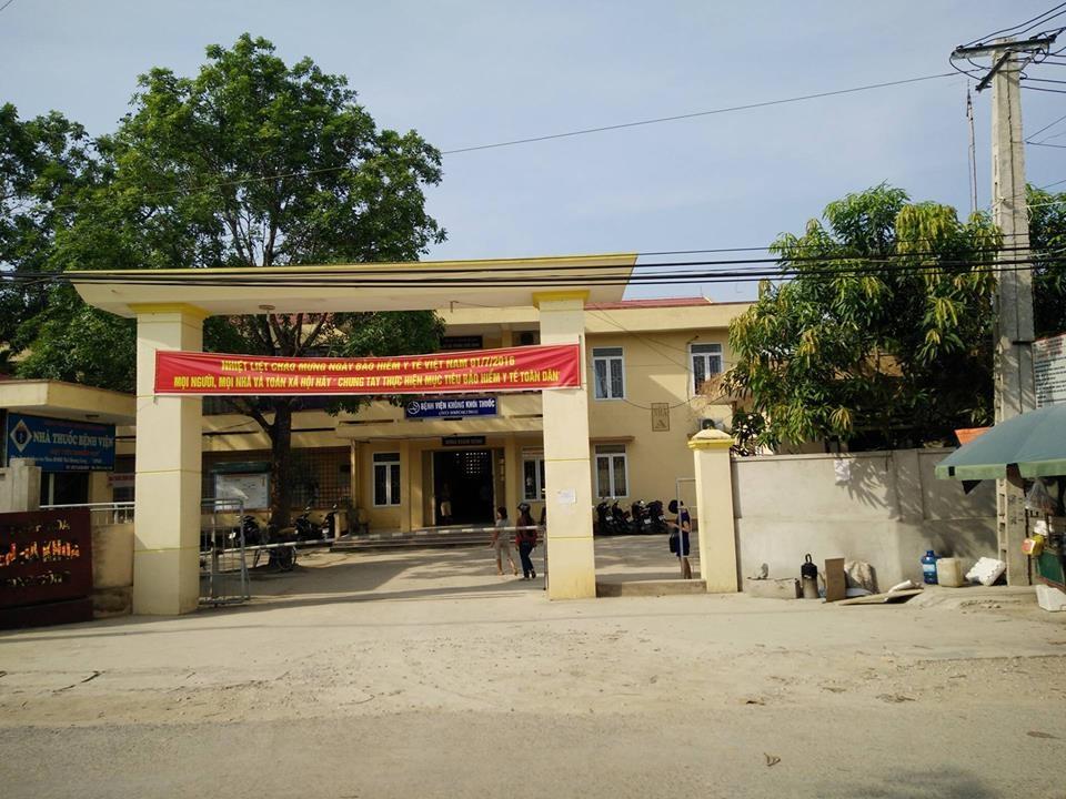 Bệnh viện Đa khoa huyện Nông Cống - nơi xảy ra việc cắt tử cung cắt luôn niệu quản bệnh nhân