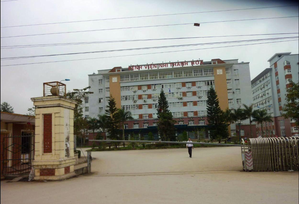 Bệnh viện Nhi Thanh Hóa- nơi phát hiện anh Thành tử nạn