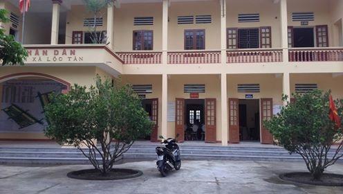 Trụ sở UBND xã Lộc Tân